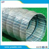 Tubo flessibile permeabile all'acqua molle di drenaggio