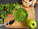 Nahrungsmittelgrad-Grün-Edelstein Spirulina