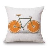 Coperchio dell'ammortizzatore stampato tela del cotone della bicicletta della frutta per il sofà (35C0197)