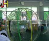 水は販売のための膨脹可能な水歩く球、プールのための水球に乗る