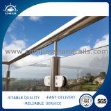 Conetor inoxidável 3 Way/4way da câmara de ar da ferragem dos acessórios do edifício dos trilhos da escada Steel301/304 da balaustrada