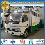 Dongfeng 4X2の販売のトロリー移動式ケイタリングの炊事車5トンの