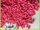 Rosen-rote Farbe Masterbatches Tabletten gebildet vom Plastikpolyäthylen