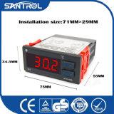 Controlador de temperatura do microcomputador de Digitas LCD