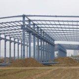 Edifícios de Estrutura de aço acabados fabricados a partir de aço da Estrutura do Workshop