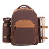 Для использования вне помещений 2 Лицо мешок охладителя для пикника рюкзак с молнией