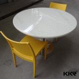 Tabelle pranzanti di superficie solide rotonde della mobilia del ristorante