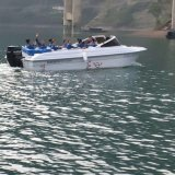 Hq820 Ocio FRP Barco de alta velocidad a 45 km/h a 10 personas