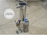 Tipo de fluxo de água do filtro de mangas para filtração de líquidos