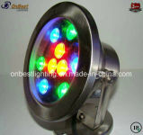 Nettes schauendes Pool-Licht RGB-LED 9W LED in IP68