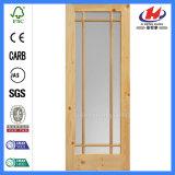 HDF пресс-формы французские стеклянные двери (JHK-000)