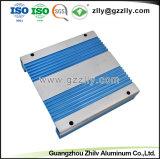 증명서를 주는 ISO9001를 가진 열 싱크를 위한 양극 처리된 알루미늄 단면도