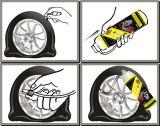 自動維持のタイヤのシーラーおよびインフレーター