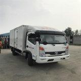 塀の貨物トラックか軽トラック