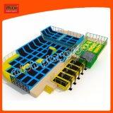 Mousse intérieure et extérieure de la fosse et stationnement libre-Jump Trampoline Zone Dodgeball