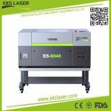 Estable de corte láser de CO2 y máquinas de grabado es-6040 podría cortar madera, acrílico