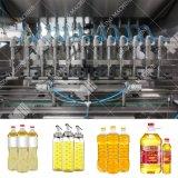 Bouteille d'huile alimentaire automatique Machine de remplissage