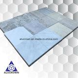 Placage en pierre riche de tuile pour la table de cuisine de décoration de revêtement de mur