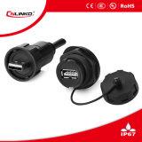 Conector del cable USB3.0 Cnlinko resistente al agua / conector USB3.0
