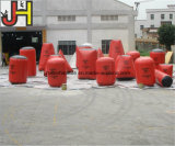 Arena gonfiabile rossa del carbonile di a buon mercato 21 PCS Paintball