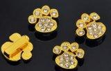 10mmの金の足の魅力およびスライダ