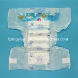 Couches Bébé doux à usage unique respirant la fabrication en Chine