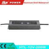 Alimentazione elettrica impermeabile di RoHS LED del Ce della Banca dei Regolamenti Internazionali 12V 16A 200W
