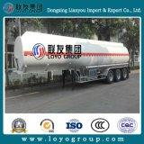 Tanque de óleo de máquina de óleo de 45 m3 de reboque atrelado de armazenagem de óleo