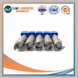 Fabricación de carburo de tungsteno molinos de extremo cuadrado