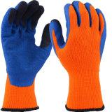 Wärme u. kalte beständige Höhe mit Latex-überzogenen Sicherheits-Handschuhen