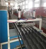 Belüftung-PET gewölbte Blatt-Strangpresßling-Maschinen-Blatt-Produktions-Maschine