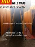 Het Amerikaanse gang-Thru Frame van het Systeem van het Slot van de Steiger van het Frame Snap-on