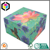 Cor feita sob encomenda que reune a caixa de jóia do presente do papel do cartão da espuma