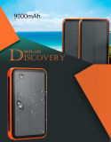 Высокоэффективные солнечные батареи Lin-Ion 9000Мач заряд аккумулятора банка