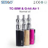 Nieuwe de g-Klap van Seego van Ideeën Lucht 1 & tc-50W de Elektrische Sigaret van Mod.
