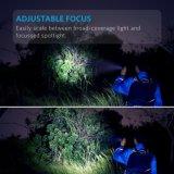 5 режимов освещения IP65 Суперяркий масштабируемые аккумулятор тактический светодиодный фонарик
