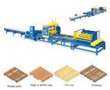 Автоматическая производственная линия деревянный паллет делая машину