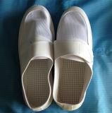 Zapatos antiestáticos del orificio del ESD cuatro para el recinto limpio industrial