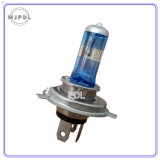 Lumière de regain d'halogène du phare H4 24V/lampe bleues