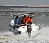 Bote patrulla de la costilla del barco de las costillas de los sellos de la marina de Liya los 6.6m