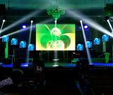 Afficheur LED polychrome de location de la définition P2.5 élevée pour la publicité