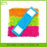 Het beste Huishouden dat van Microfiber van de Verkoop Aangepaste Zwabber Microfiber schoonmaakt