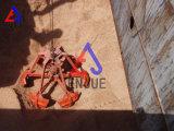 Benna meccanica della gru a benna della buccia d'arancia delle quattro corde per carico