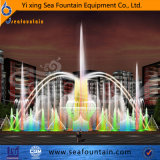 Fontaine colorée inoxidable de musical de multimédia