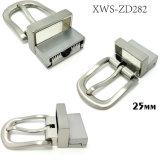 La boucle de courroie réversible en alliage de zinc de Pin de boucle en métal de qualité pour la robe ceinture les sacs à main de chaussures de vêtement (XWS-ZD282)