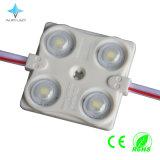 Módulo de Epistar/Sanan 1.44W SMD2835 LED con la lente para la muestra de acrílico/la publicidad de la insignia del LED de la carta de la señalización/de canal/del rectángulo ligero