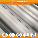 L'argent de la construction d'anodisation Profil en aluminium extrudé