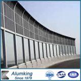 L'isolation acoustique Expressway Freeway matériau aluminium panneaux de mousse