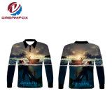 反紫外線カスタムトーナメント釣摩耗のワイシャツを採取する新しいポリエステル長い袖