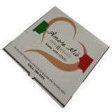 Boîte faite sur commande à pizza de carton d'impression avec le modèle libre